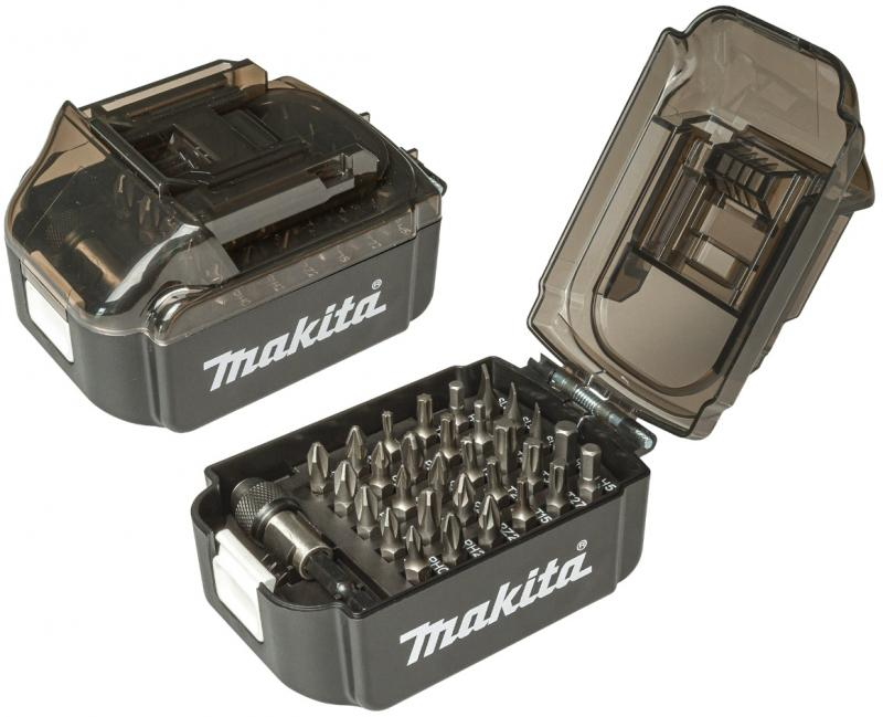 Makita Bitssats 31-delar LXT-batteri