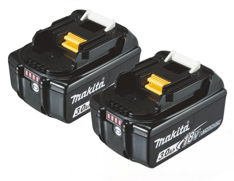 Makita BL1830B 2-P Batteri 18V 3.0Ah
