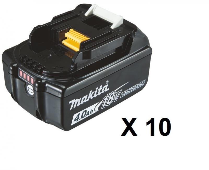 Makita BL1840B Batteri 10-pack 18V 4.0Ah