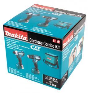 Makita Combokit CLX224A 12V (DF333D + TD110D + väska)