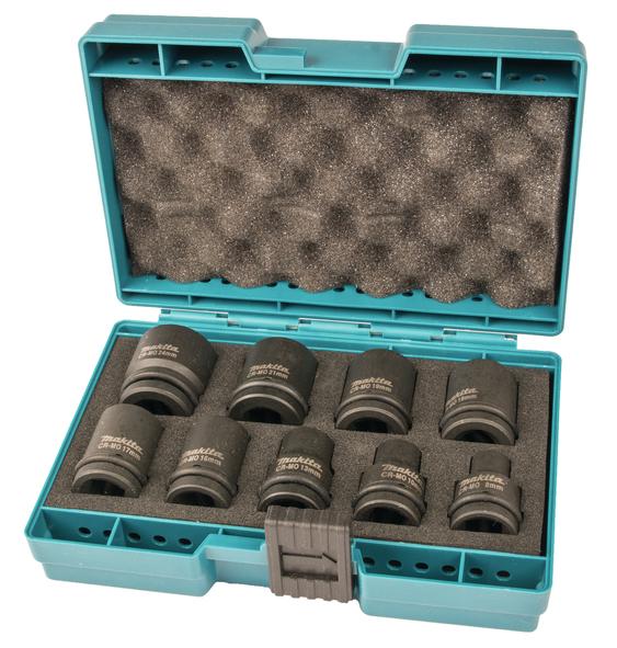 Makita D-41517 Krafthylssats 9-del 8-24mm
