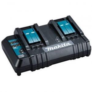 Makita DC18SH Batteriladdare med 2-portar