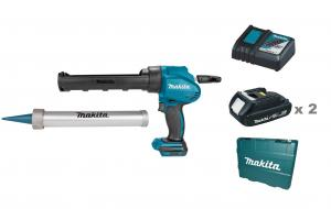Makita DCG180RAEX Fogpistol 18V, 300ml och 600ml