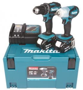 Makita DLX2132MJ Combokit (DDF482 + DTW251 )