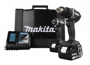 Makita DLX2189 Combokit (DDF484 + DTD153) Black Edition