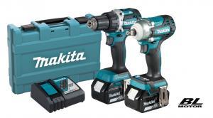 Makita DLX2410G Combokit  (DDF484+DTW300)