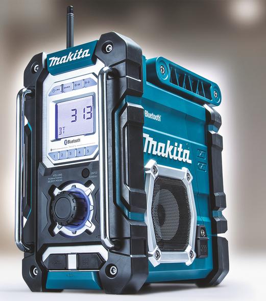 Makita DMR108 Stereoradio med bluetooth