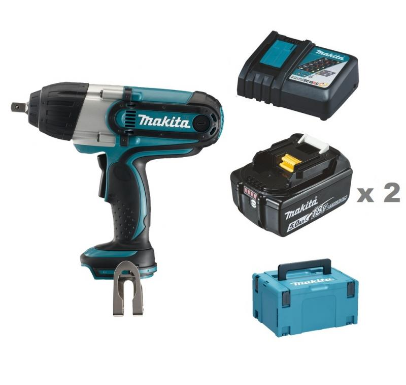 makita dtw450rtj mutterdragare 18v. Black Bedroom Furniture Sets. Home Design Ideas