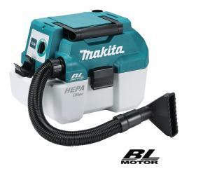 Makita DCL180SFCB Dammsugare 18V, komplett
