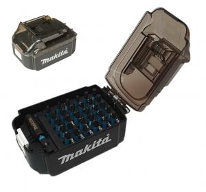 Makita Bitssats Impact BLACK 31-delar LXT-batteri