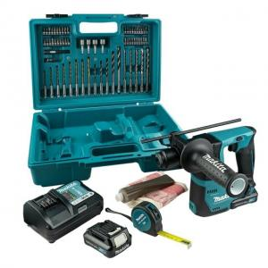 Makita Combokit CLX240plus  (MP100DZ + HR140DWAE1) Borrhammare+ Luftpump