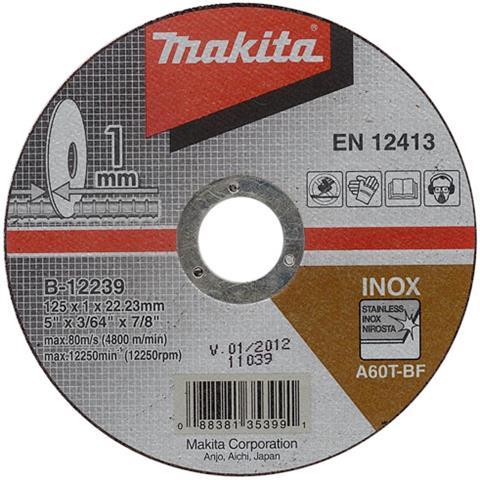 Kanon Makita kapskivor 125mm 10-pack EY-19