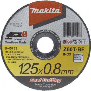 Makita kapskiva 125mm 0,8mm