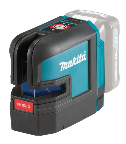 Makita SK106DZ Kryss- och punktlaser 12V (röd)
