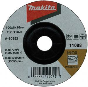 Makita Slipskiva 125x6mm 10-Pack