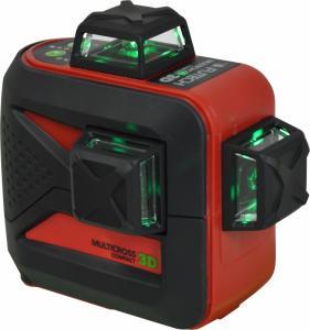 Multikorslaser MC3D 3X360 Grön