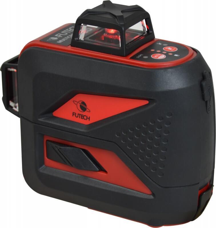 Multikorslaser MC3D 3X360 Röd