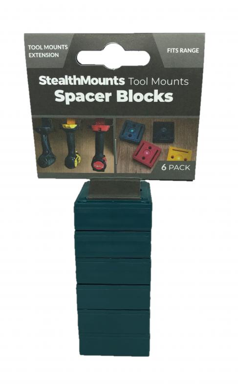 Distanser till verktygshållare 6-pack