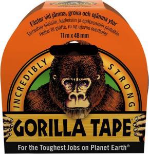 Gorilla Vävtejp svart 48mm x 11m