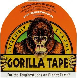 Gorilla Vävtejp vit 48mm x 27m