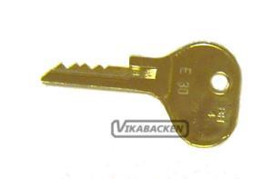 Nyckel Tändningslås