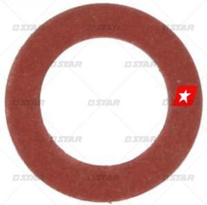 Fiberbricka 10x6x1,5mm