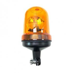 Roterande varningsfyr 12/24 V H1 lampa stångfäste