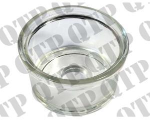 Glas Bränslefilter kantigt