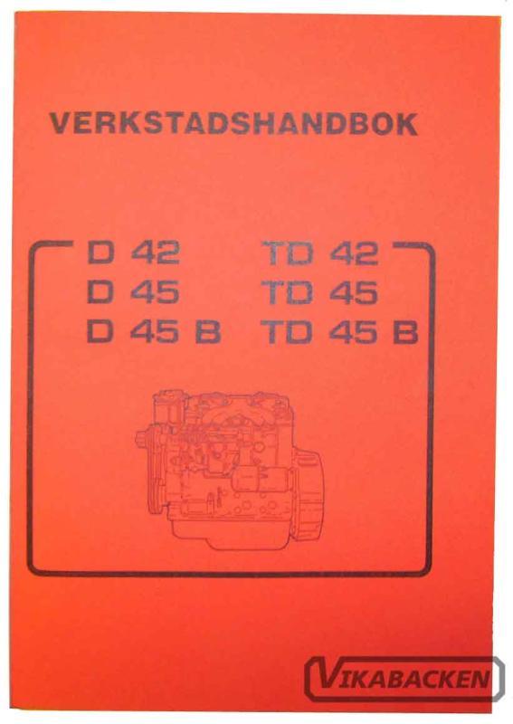 Verkstadshandbok D/TD42 D/TD45