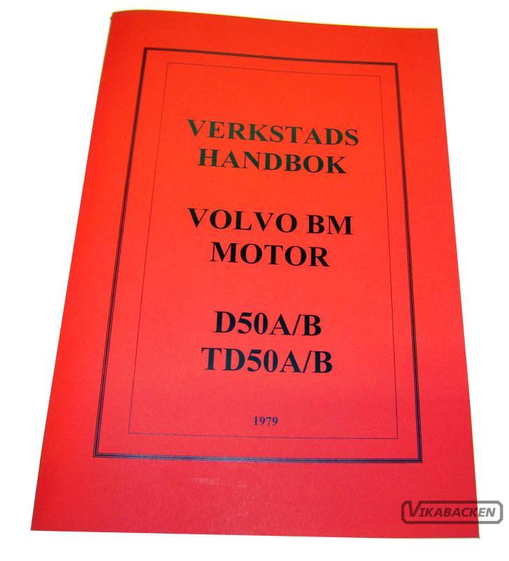 Verkstadshandbok D/TD50A/B