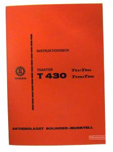 Instruktionsbok BM-430