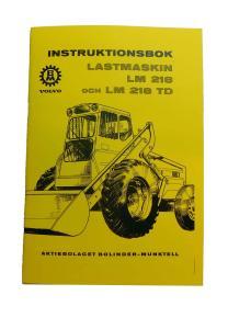 Instruktionsbok LM218,218TD