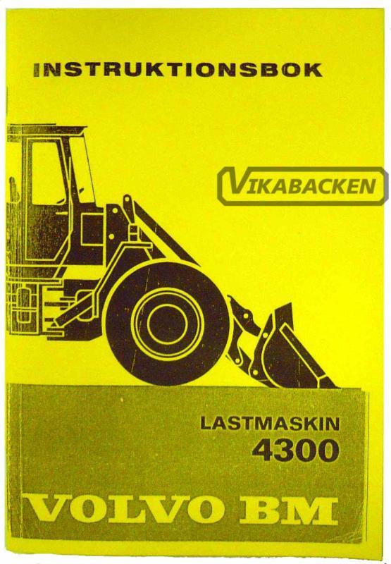 Instruktionsbok 4300