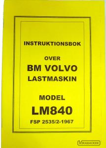 Instruktionsbok LM840