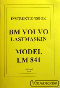 Instruktionsbok LM841