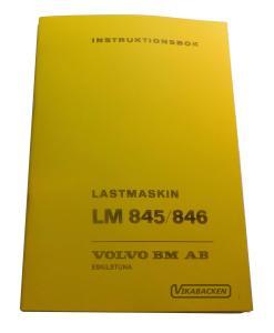 Instruktionsbok LM845/846