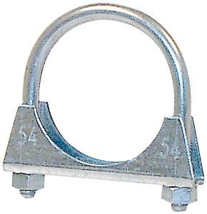 Avgasklammer M8 70mm