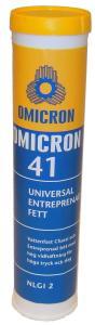 Omicron41 Entreprenadfett 400g Syntetfett standardpatron