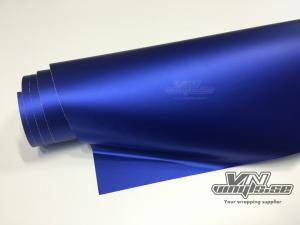 VN WRAP - MATTE DARK BLUE METALLIC VINYL