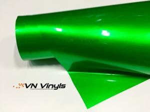 VN WRAP - GLOSS GREEN METALLIC VINYL