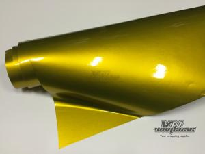 VN WRAP - GLOSS GOLDEN YELLOW METALLIC VINYL