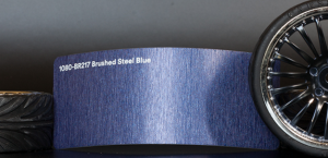 3M 1080-BR217 Brushed Steel Blue Vinyl
