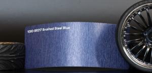 3M 1080-BR217 Brushed Steel Blue Vinyl