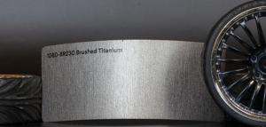 3M 1080-BR230 Brushed Titanium Vinyl