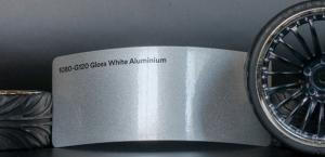3M 1080-G120 Metallic Gloss White Aluminium Vinyl