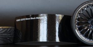 3M 1080-G212 Metallic Gloss Black Vinyl