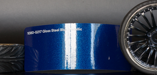 3M 1080-G217 Metallic Gloss Blue Steel Vinyl