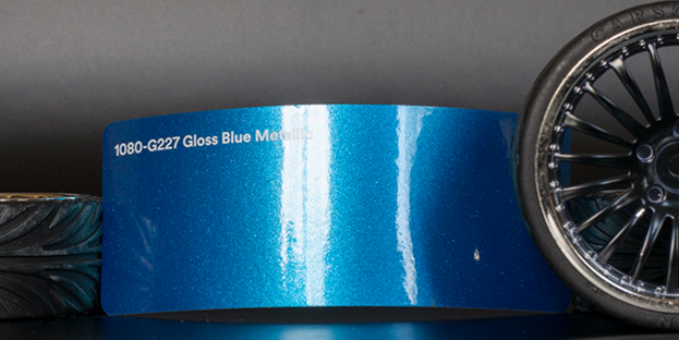 3M 1080-G227 Metallic Gloss Blue Vinyl
