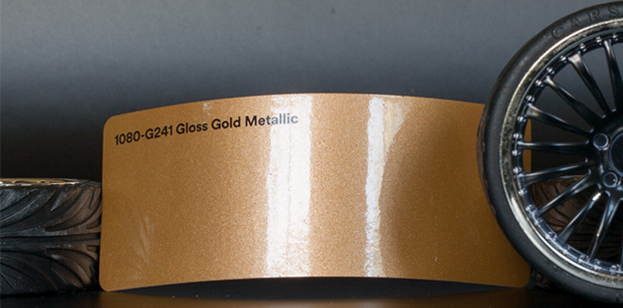 3M 1080-G241 Metallic Gloss Gold Vinyl