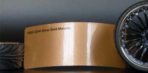 3M 1080-G241 Metallic Gloss Gold Vinyl